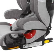 Model Seatfix with integrated Isofix arms for an optimum protection in case of accidents
