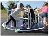 Wheelchair Accessible Merry Go Round by Sportsplay