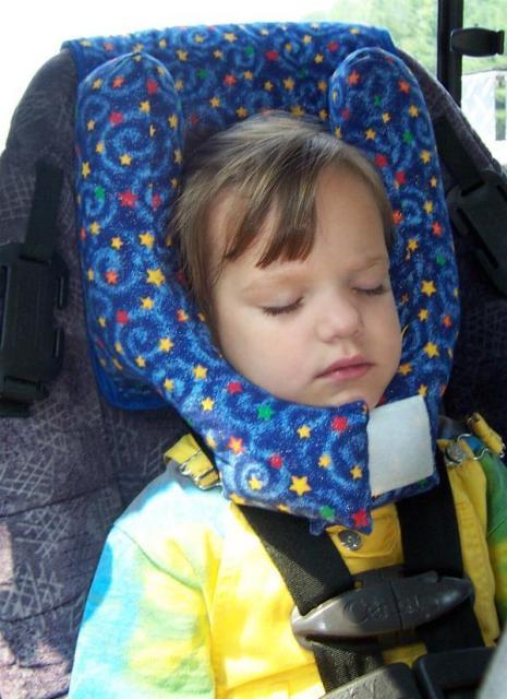 Car Seat Travel Pillow Toddler Coddler Photos Table And