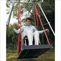 Wheelchair Platform Swing with Frame by TFH